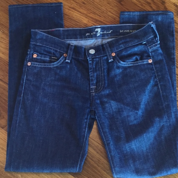 7 For All Mankind Denim - Seven for all mankind straight leg